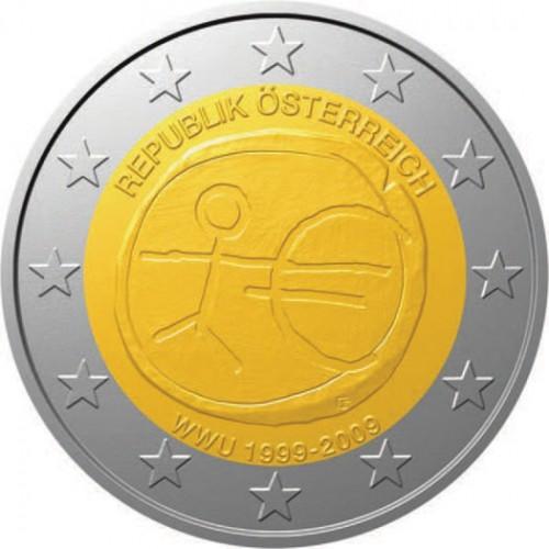 Áustria 2€ 2009 (UEM)
