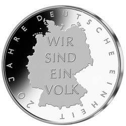 Germany 10€  German Unification 2010