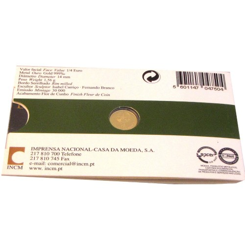 Portugal 1/4€  2008