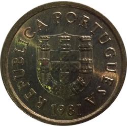 1 Escudo 1981