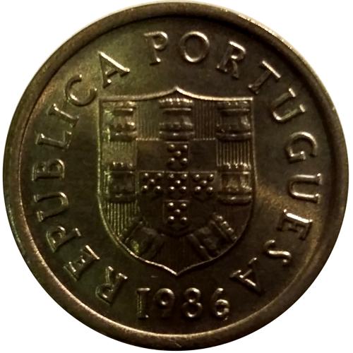 1 Escudo 1986