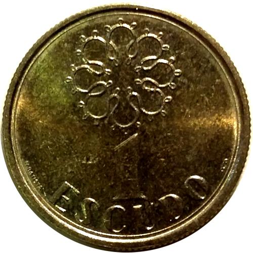 1 Escudo 1988