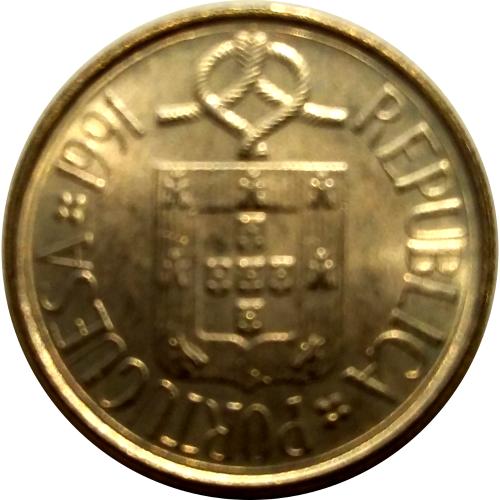 1 Escudo 1991