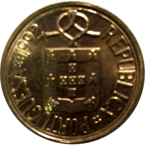 1 Escudo 1992