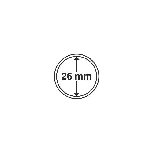 Cápsulas 26 mm