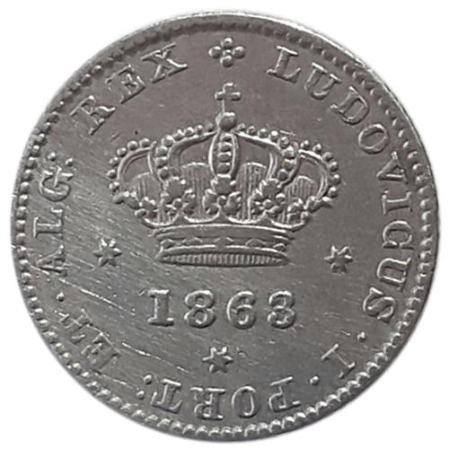 D. Luís I 50 Reis 1863
