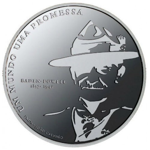 Portugal 5.00€ 2007 (one hundred years of Scouting)
