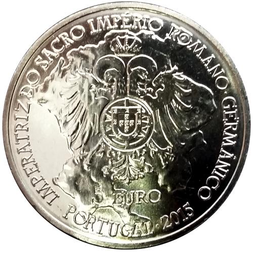 Portugal 2.5€ 2015  (70 Anos de Paz na Europa)