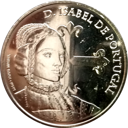 Portugal 5€  D.Isabel de Portugal 2015