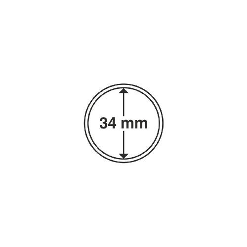 Cápsulas 34 mm