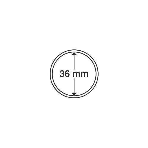 Cápsulas 36 mm