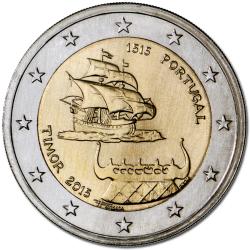 Portugal 2€ Timor 2015
