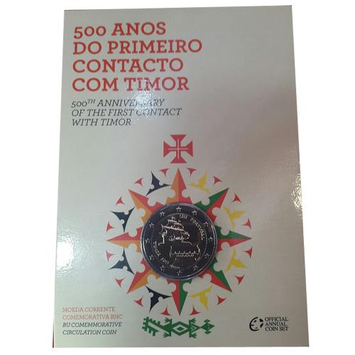 Portugal 2€ 500 ANOS DO 1º CONTACTO COM TIMOR