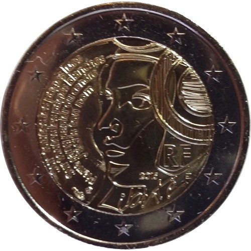 France 2€ 2015 (Federation Party)