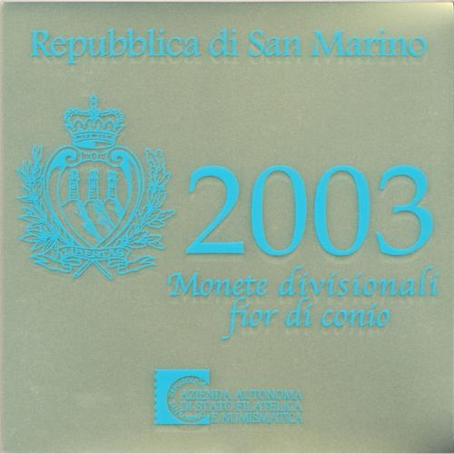 San Marino 2003 Bu Set